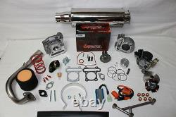 Scooter Big Bore Kit 100cc 50mm Qmb139 Gy6 Scooter Performance Pièces En Acier Inoxydable