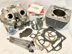Trx400ex Trx 400ex Head Cylinder 88 MIL Big Bore Kit Cover Top End Reconstruire 426