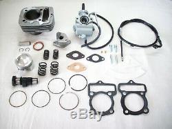 Tuning Kit Zylinder Vergaser 80ccm + Nockenwelle F. Moteur Honda Cb Cy XL 50 Neu