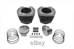 V-twin 11-1259 107 Big Bore Twin Cam Kit Cylindre Tc-88 Dyna Softail 99-06