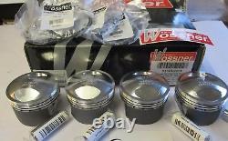 Wossner Kawasaki Gpz1100 Unitrak 1170cc Big Bore Piston Kit