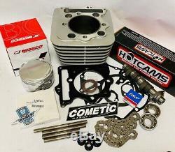 Xr400 Xr 400 Trx 400x 88m 426 Big Bore Cylindre Wiseco 101 Hotcam Kit Étape 2