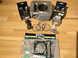 Yamaha 180 Ttr125 62mm Big Bore Kit Inc Performance Cam Convient 00-16
