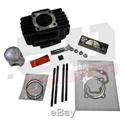 Yamaha Pw50 Qt50 Big Bore De Top End Cylindre Kit Joints D'étanchéité Des Segments De Piston Goujons