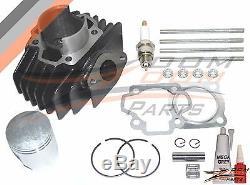 Yamaha Pw 50 Pw50 Big Bore Kit Top End 60cc Cylindre Piston Anneaux 1981 2009