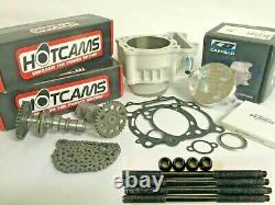 Yfz450 Yfz 450 Big Bore Kit Stage 3 Hotcams Hot Cams 98mm Cylindre Cp Piston
