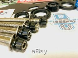 Yfz450 Yfz 450 Big Bore Stroker Kit Complet Etape 3 Cambers Vannes 3 Crank